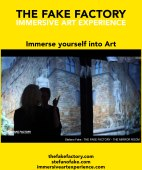 IMMERSIVE ART EXPERIENCE IMMERSIVE ART THE FAKE FACTORY 70