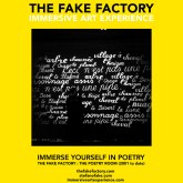 the fake factory the poetry room immersive art experience_00040