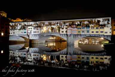 the fake factory videomapping ponte vecchio firenze 2018_00603