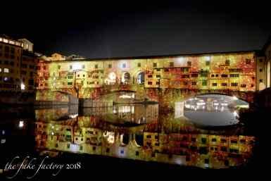 the fake factory videomapping ponte vecchio firenze 2018_00649