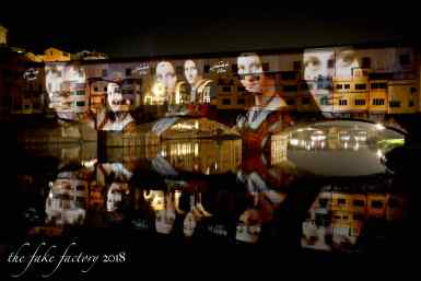 the fake factory videomapping ponte vecchio firenze 2018_00705