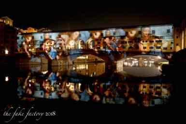 the fake factory videomapping ponte vecchio firenze 2018_00720