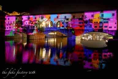 the fake factory videomapping ponte vecchio firenze 2018_00871