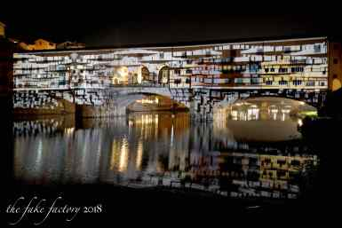 the fake factory videomapping ponte vecchio firenze 2018_00930