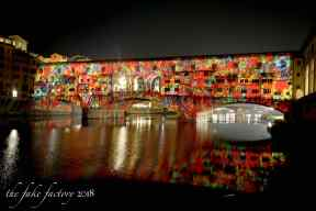 the fake factory videomapping ponte vecchio firenze 2018_00994