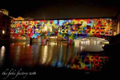 the fake factory videomapping ponte vecchio firenze 2018_01001