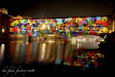 the fake factory videomapping ponte vecchio firenze 2018_01004