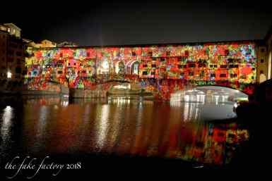 the fake factory videomapping ponte vecchio firenze 2018_01014