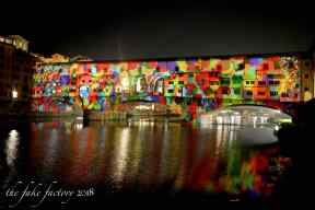 the fake factory videomapping ponte vecchio firenze 2018_01021