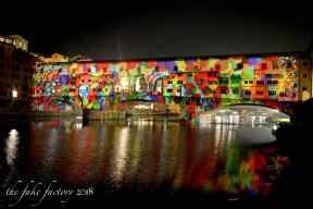 the fake factory videomapping ponte vecchio firenze 2018_01021