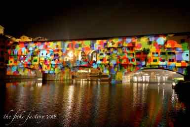 the fake factory videomapping ponte vecchio firenze 2018_01042