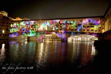 the fake factory videomapping ponte vecchio firenze 2018_01072