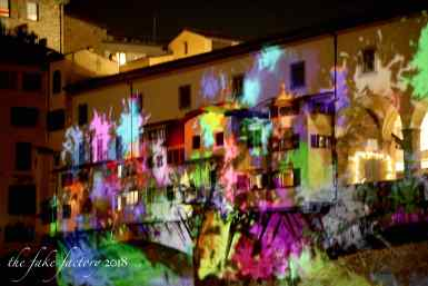 the fake factory videomapping ponte vecchio firenze 2018_01092