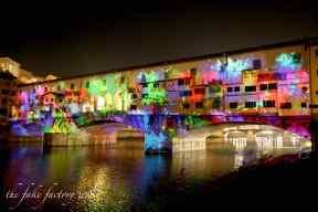 the fake factory videomapping ponte vecchio firenze 2018_01102