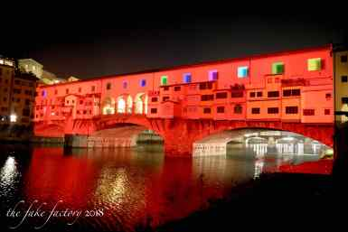 the fake factory videomapping ponte vecchio firenze 2018_01111