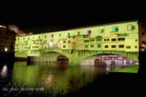 the fake factory videomapping ponte vecchio firenze 2018_01121