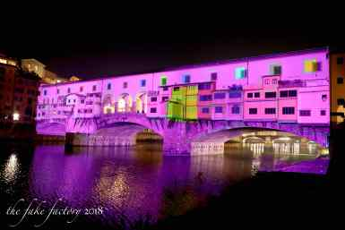 the fake factory videomapping ponte vecchio firenze 2018_01130