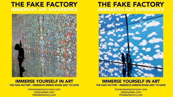 THE FAKE FACTORY IMMERSIVE ART EXPERIENCE 2012-2020 FORMAT.121
