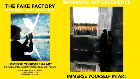 THE FAKE FACTORY IMMERSIVE ART EXPERIENCE 2012-2020 FORMAT.125