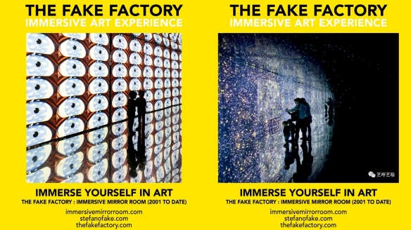 THE FAKE FACTORY IMMERSIVE ART EXPERIENCE 2012-2020 FORMAT.127