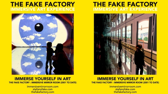 THE FAKE FACTORY IMMERSIVE ART EXPERIENCE 2012-2020 FORMAT.138