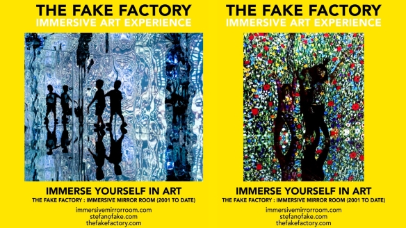 THE FAKE FACTORY IMMERSIVE ART EXPERIENCE 2012-2020 FORMAT.157