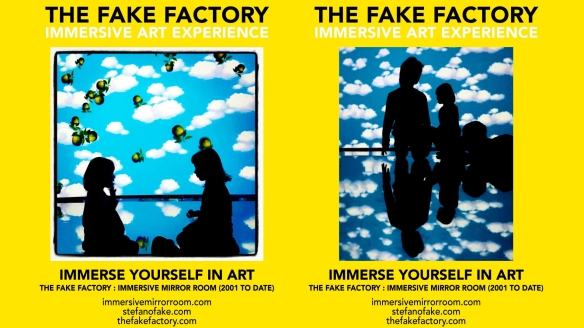 THE FAKE FACTORY IMMERSIVE ART EXPERIENCE 2012-2020 FORMAT.160