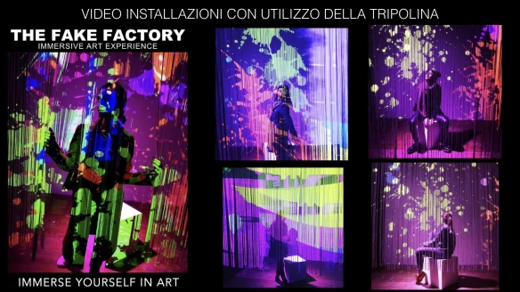THE FAKE FACTORY IMMERSIVE ART EXPERIENCE 2012-2020 FORMAT.170