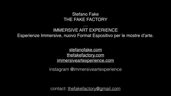 THE FAKE FACTORY IMMERSIVE ART EXPERIENCE 2012-2020 FORMAT.173